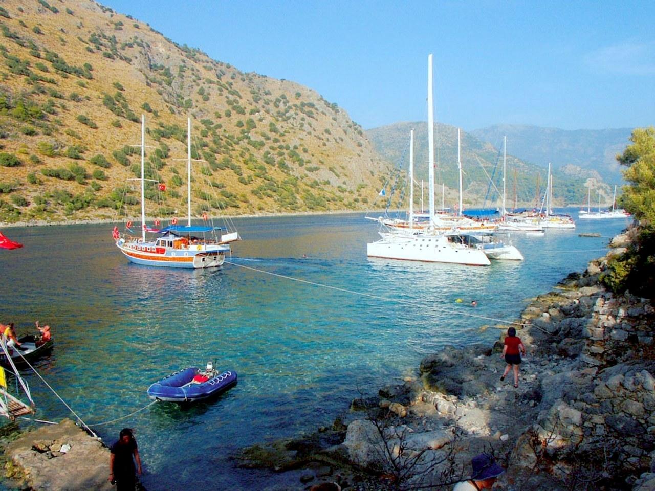 Antalya - Fethiye Routes