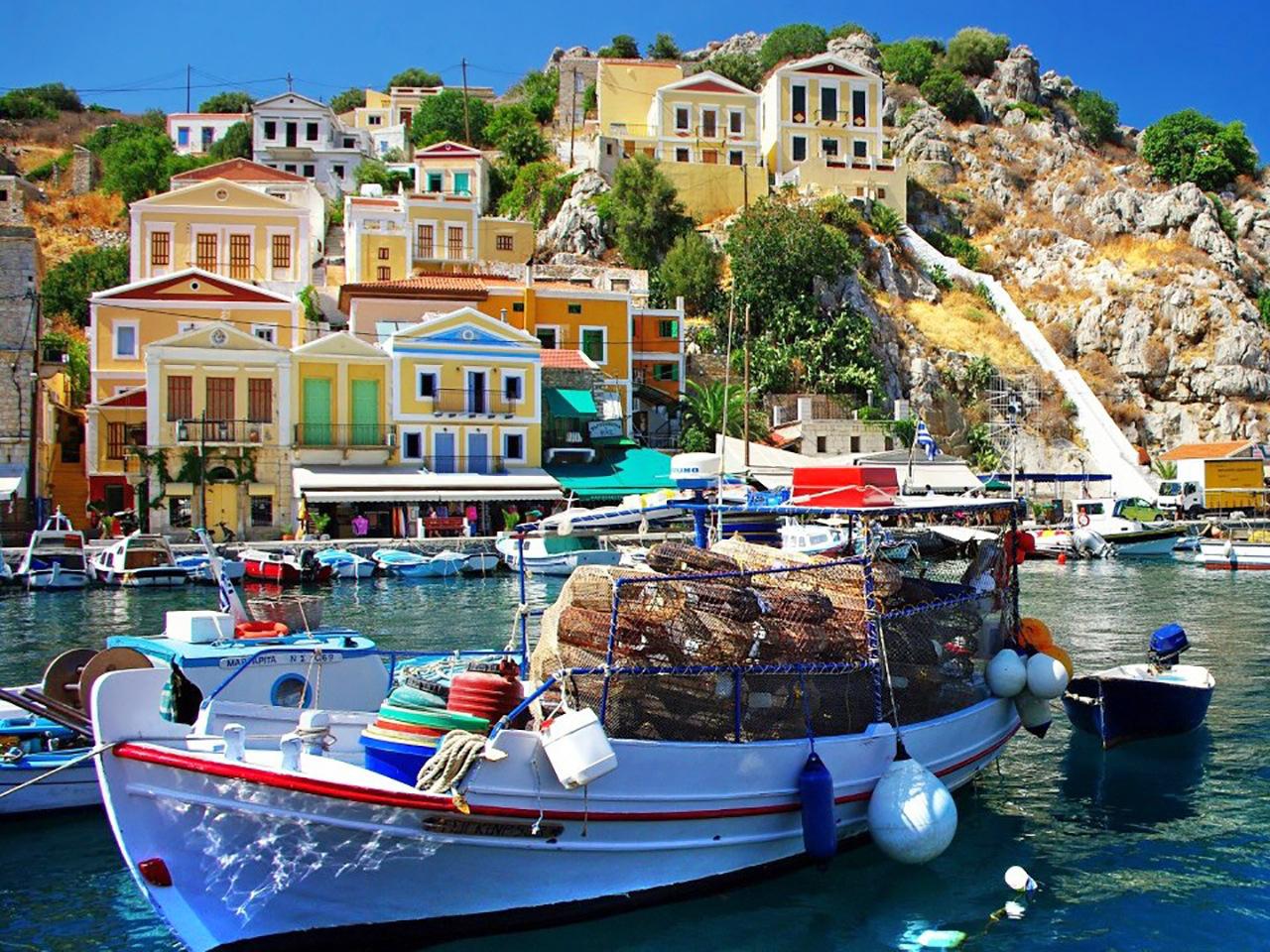 Bodrum - Griechische Inseln