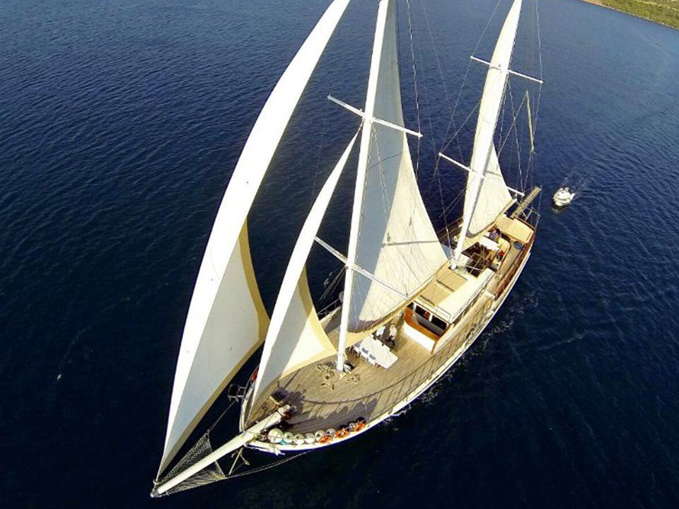 Yacht Kubilay Sezen